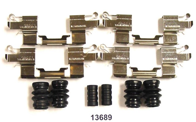 Better Brake Parts 13689K Disc Brake Hardware Kit