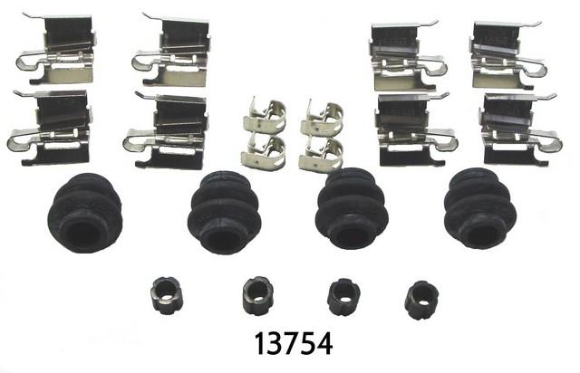 Better Brake Parts 13754K Disc Brake Hardware Kit