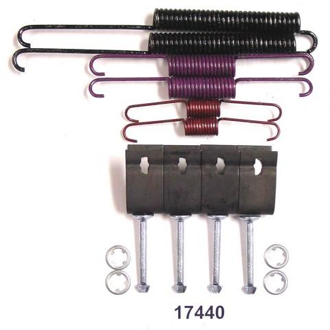 Better Brake Parts 17440K Drum Brake Hardware Kit