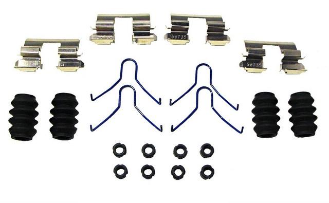 Better Brake Parts 6162K Disc Brake Hardware Kit