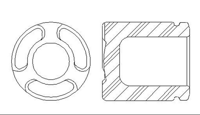 Better Brake Parts 7839