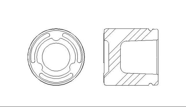 Better Brake Parts 7940 Disc Brake Caliper Piston