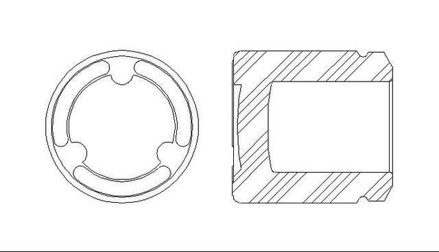 Better Brake Parts 7943 Disc Brake Caliper Piston
