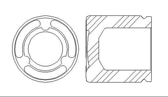 Better Brake Parts 7948