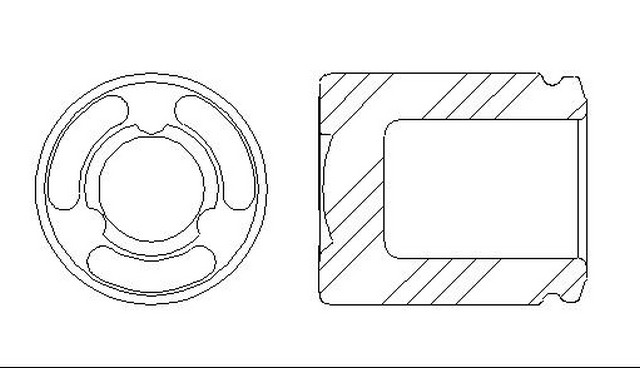 Better Brake Parts 7950 Disc Brake Caliper Piston