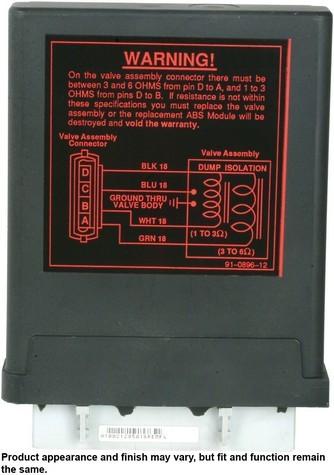 Cardone Reman 12-1002 ABS Control Module