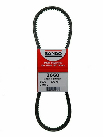 Bando 3660 Accessory Drive Belt