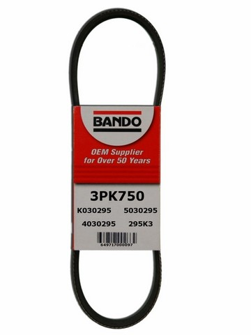 Bando 3PK750 Accessory Drive Belt