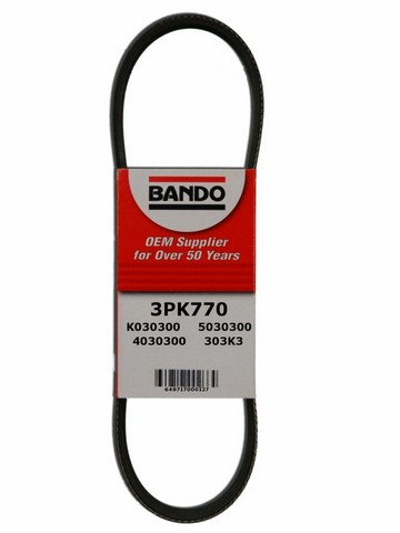 Bando 3PK770 Accessory Drive Belt