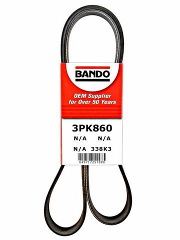 Bando 3PK860 Accessory Drive Belt