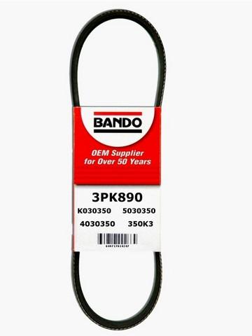 Bando 3PK890 Accessory Drive Belt