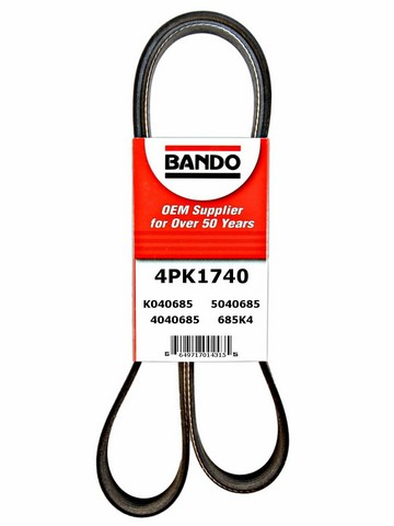 Bando 4PK1740 Accessory Drive Belt