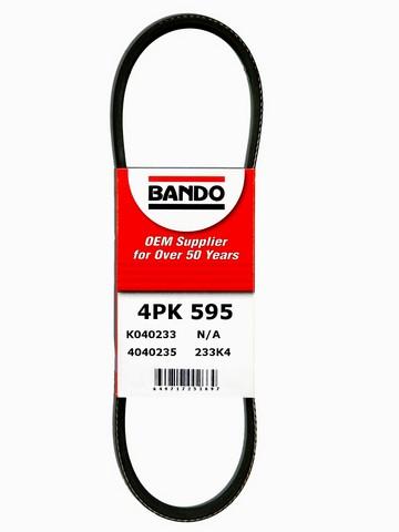 Bando 4PK595 Accessory Drive Belt