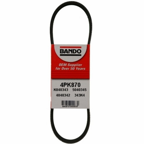 Bando 4PK870 Accessory Drive Belt