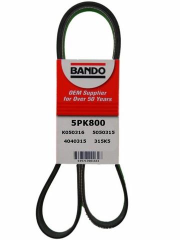 Bando 5PK800 Accessory Drive Belt