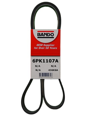 Bando 6PK1107A Accessory Drive Belt