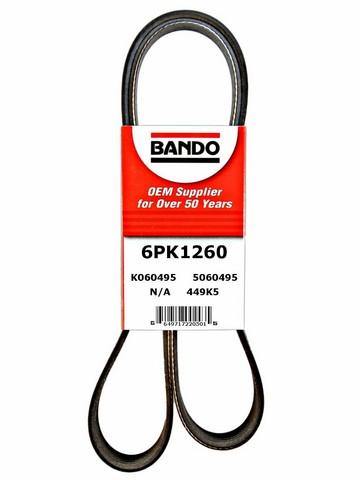 Bando 6PK1260 Serpentine Belt