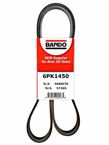 Bando 6PK1450 Accessory Drive Belt