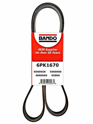 Bando 6PK1670 Accessory Drive Belt