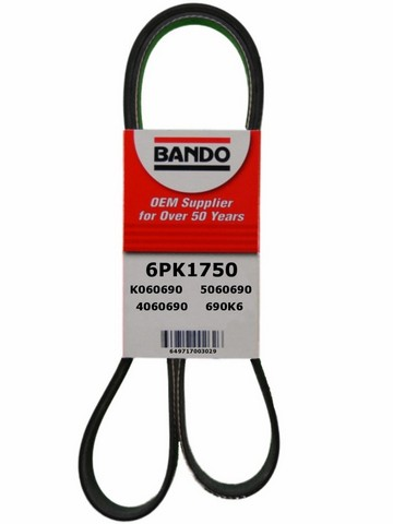 Bando 6PK1750 Accessory Drive Belt