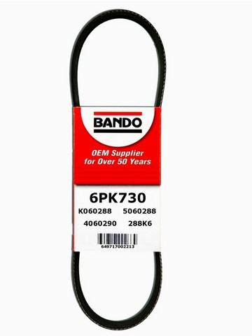 Bando 6PK730 Accessory Drive Belt