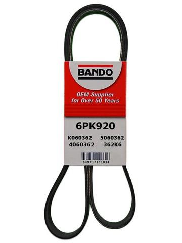 Bando 6PK920 Serpentine Belt