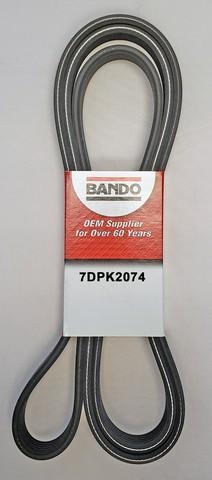 Bando 7DPK2074 Accessory Drive Belt