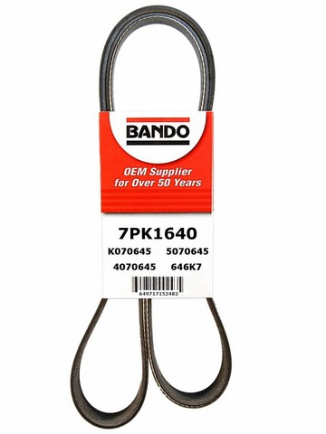 Bando 7PK1640 Accessory Drive Belt