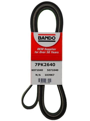 Bando 7PK2640 Accessory Drive Belt