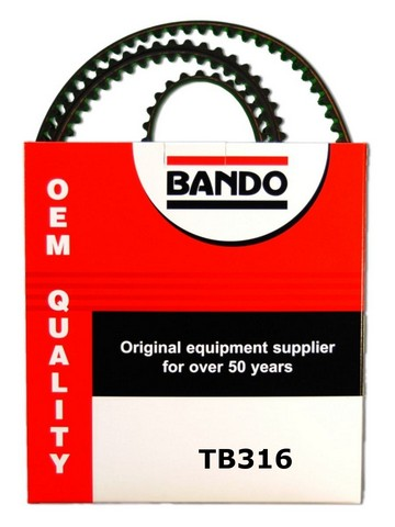 Bando TB316 Engine Timing Belt
