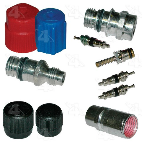 Four Seasons 26776 A/C System Valve Core and Cap Kit