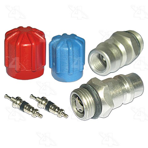 Four Seasons 26778 A/C System Valve Core and Cap Kit