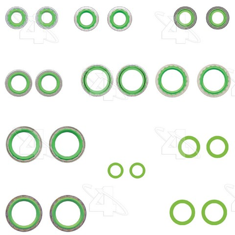 Four Seasons 26844 A/C System O-Ring and Gasket Kit