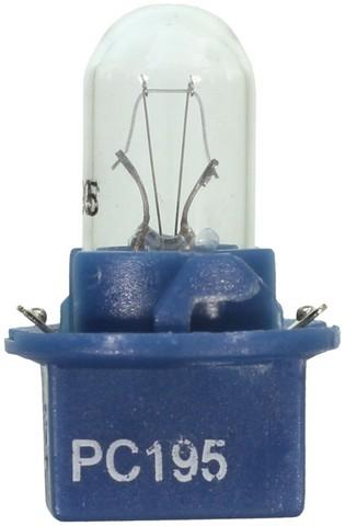 Wagner Lighting PC195 Check Engine Light Bulb,Instrument Panel Light Bulb,Side Marker Light Bulb